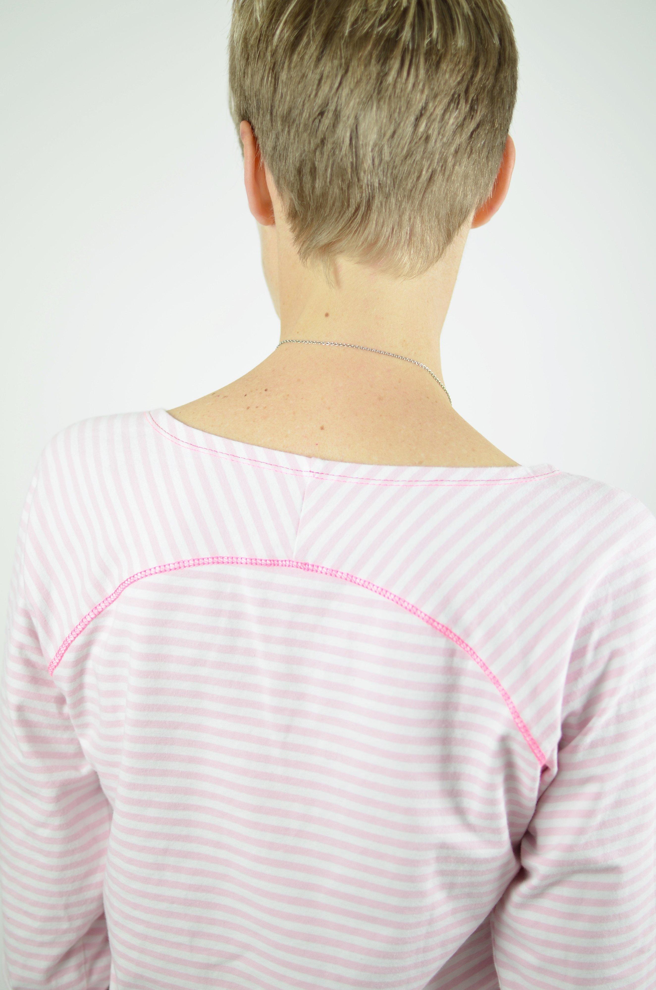 Freebook: Raglan Shirt für Damen selber nähen