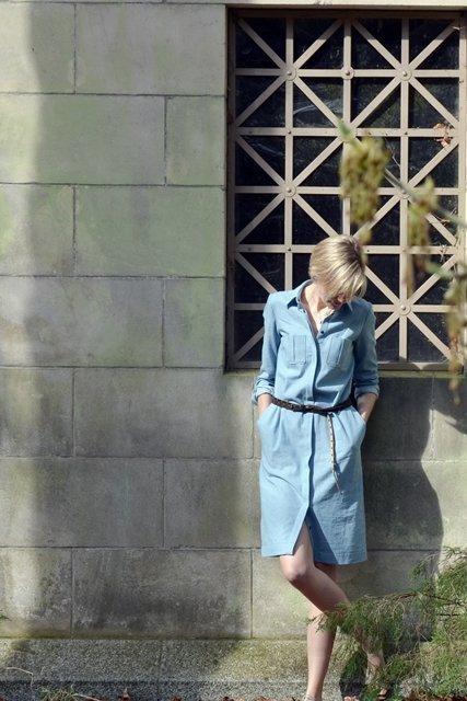 Mara Shirt Dress Schnittbesprechung/ Pattern Review