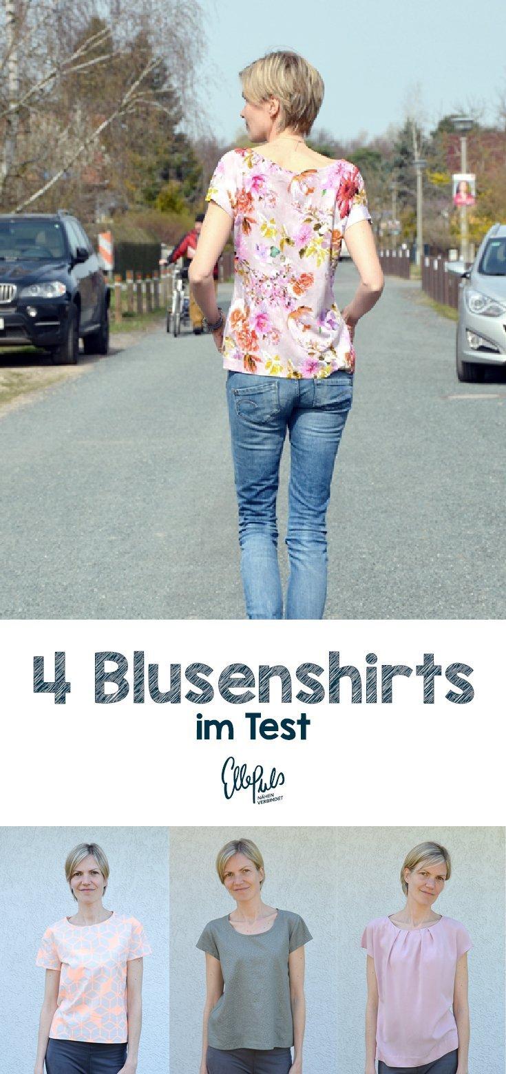 Blusenshirt_Schnittmuster_Vergleich