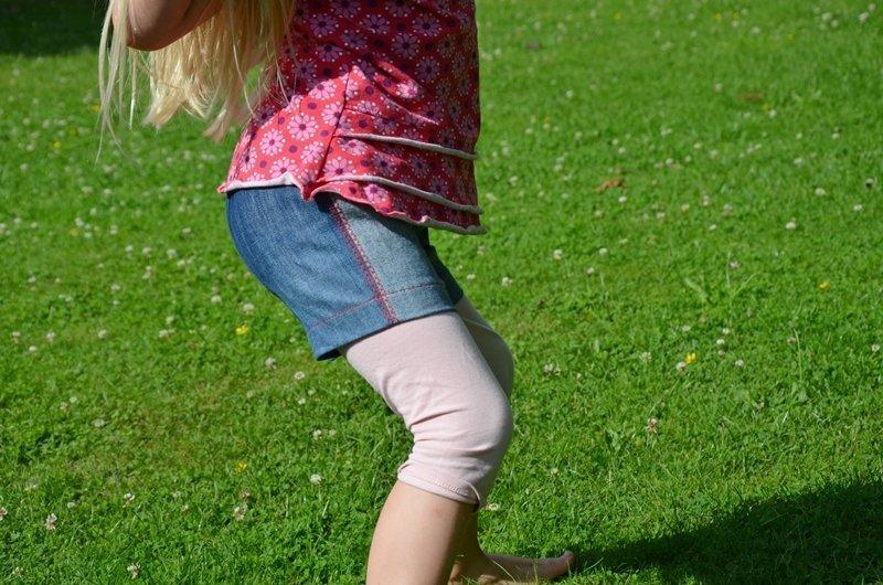 Sachensucher Shorts Upcycling Schnittmuster