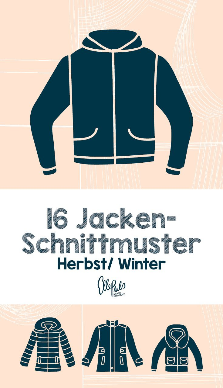 Jacken nähen. 16 Schnittmuster für den Herbst. | Elle Puls
