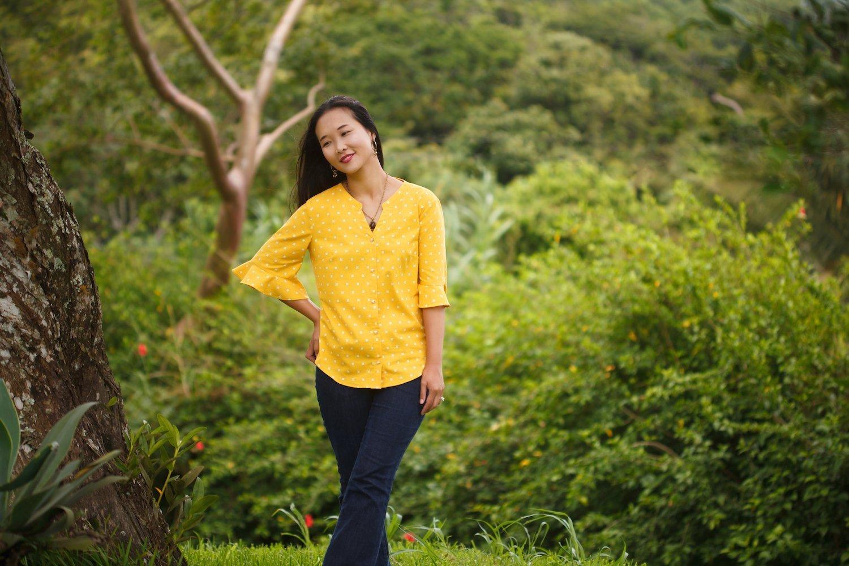 Blusen Schnittmuster - Inspiration für den Blusen-Sew-Along | Elle Puls