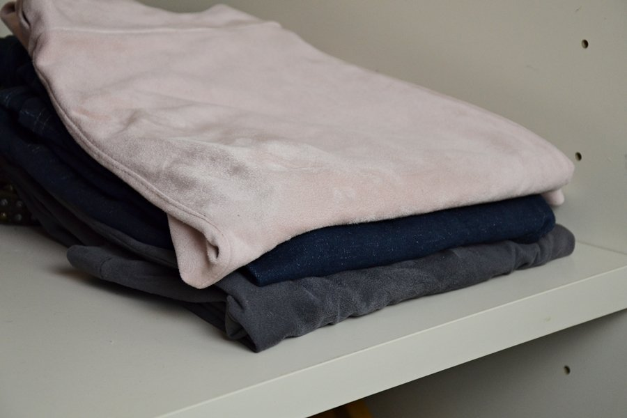 minimalistischer Kleiderschrank: Hosen