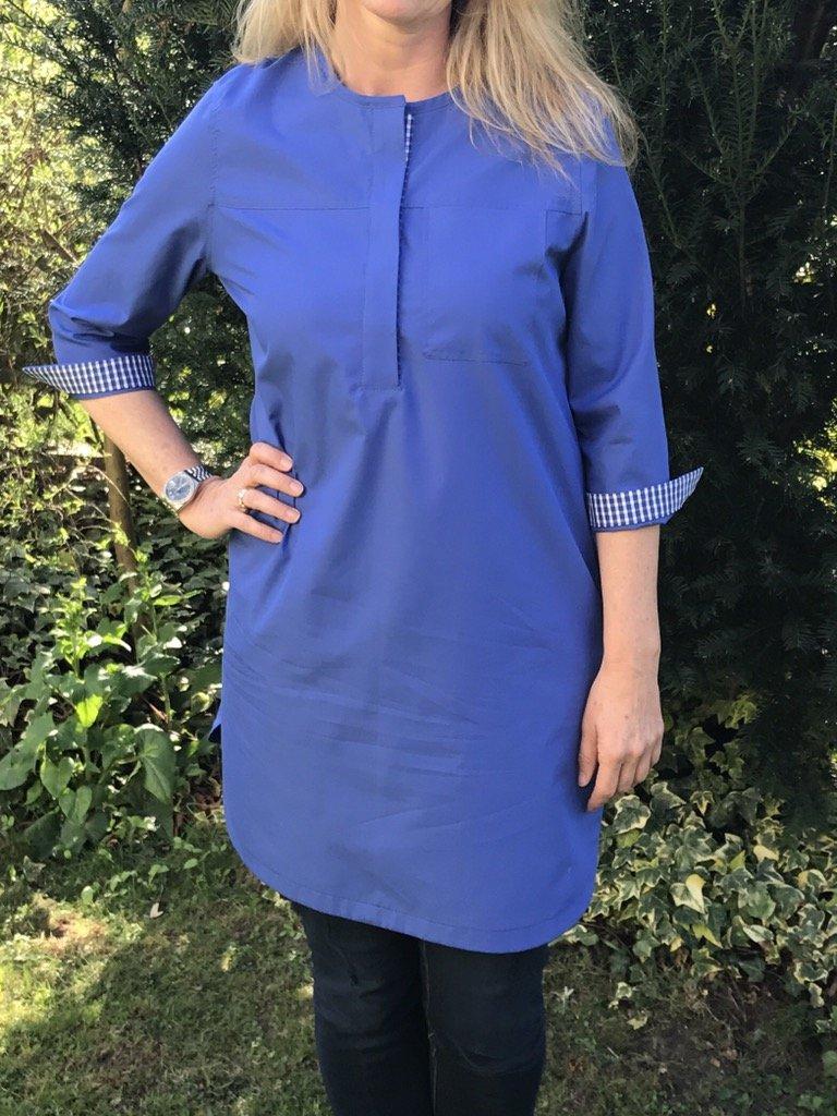 Tunika Elle in blau