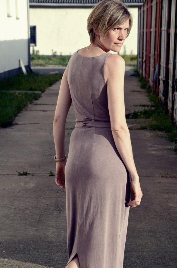 Kielo Wrap Dress Rückseite
