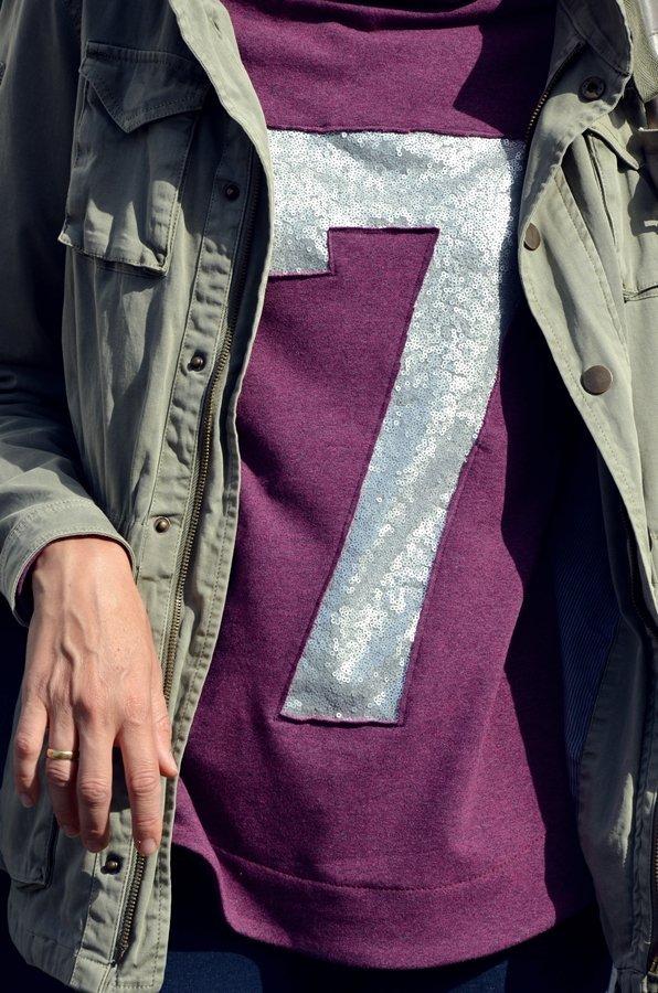 Quick & Dirty: Pailletten-Applikation nähen | Elle Puls