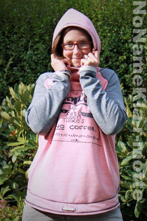 Josie Hoodie Schnittmuster: Kapuzenpulli selber nähen