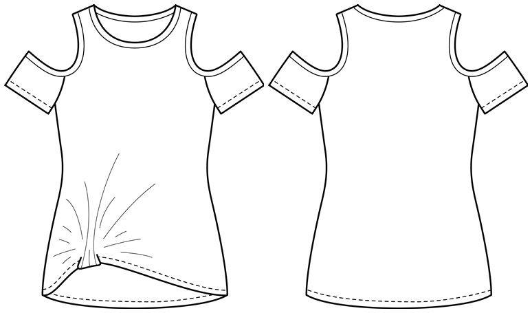 Knotenshirt \