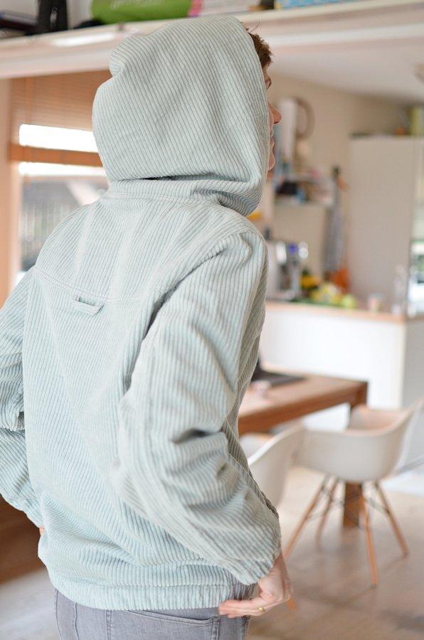 Hoodie für Webware \
