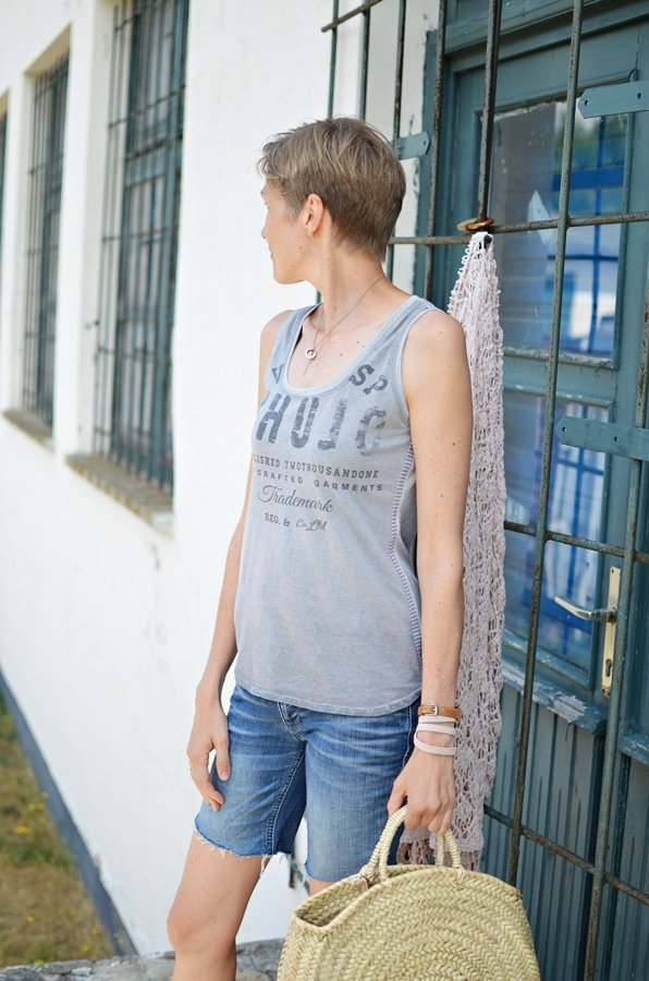"""""""Hope"""" für ein Damentop aus Jersey"""