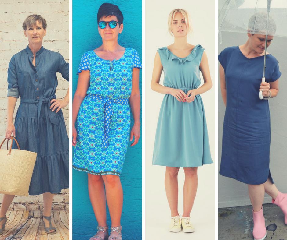 10 tolle Schnittmuster für ein Sommerkleid aus Webware | Elle Puls