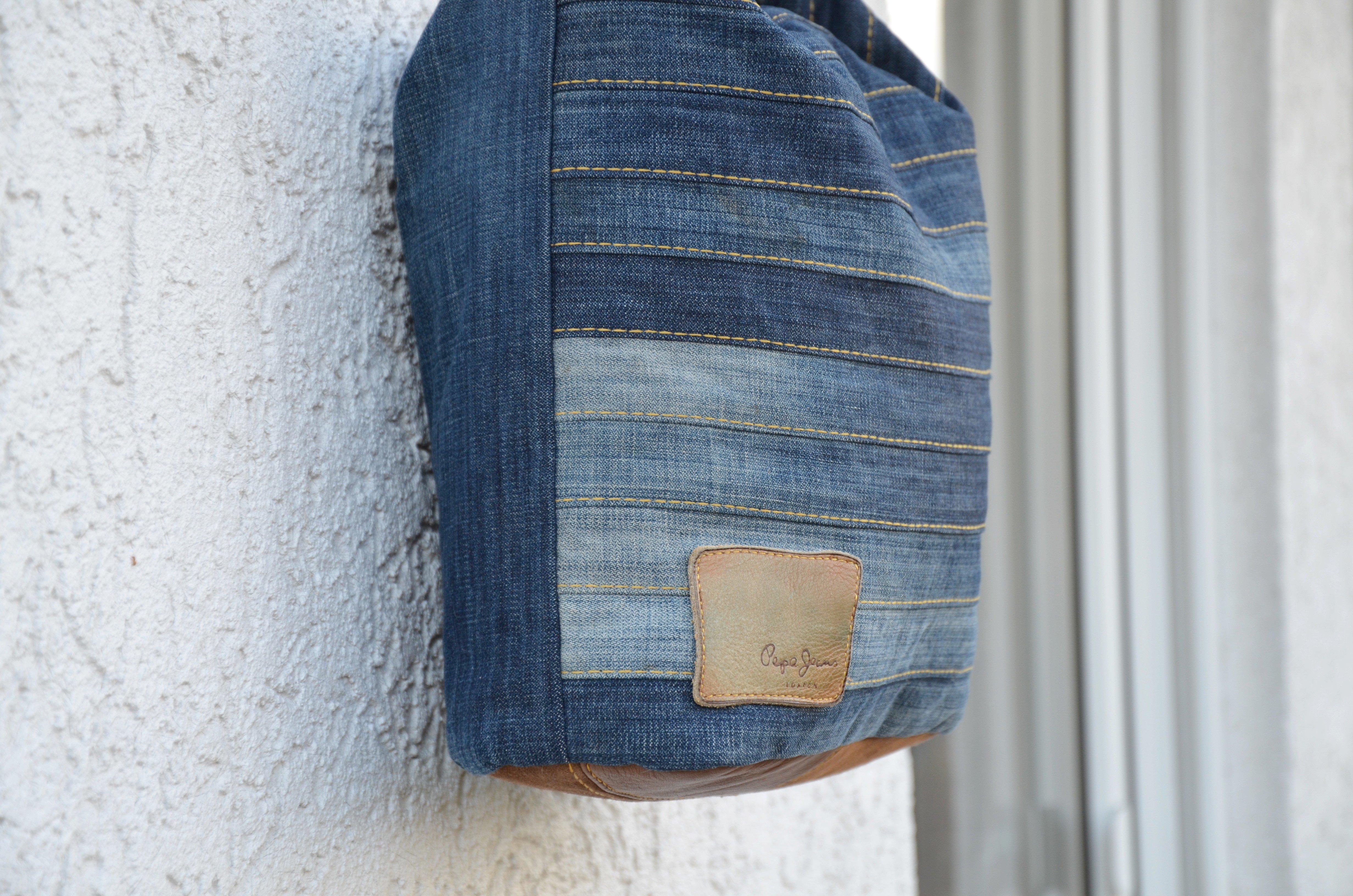 Tasche Aus Jeans Nahen Diy Anleitung Und Video Elle Puls