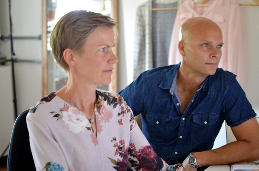 Mit meinem Mann Grischa, der mich bei Elle Puls unterstützt