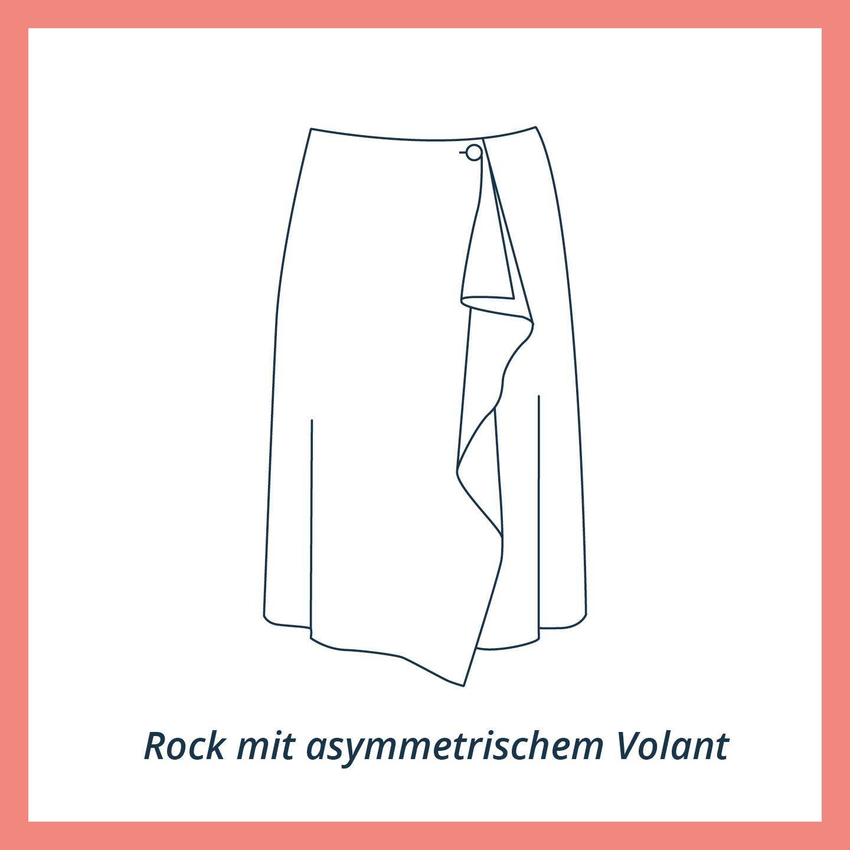 Rock Schnittmuster