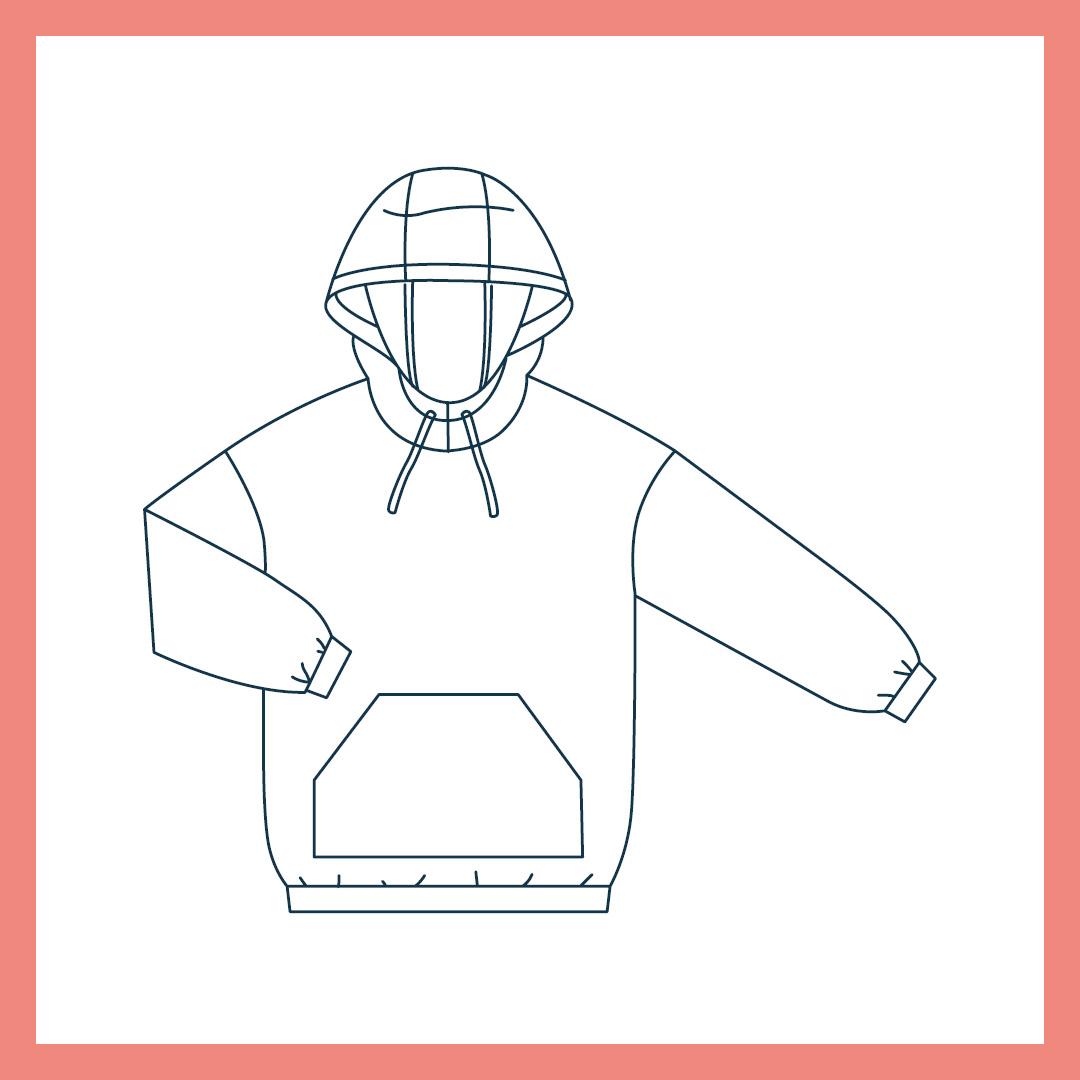 Schnittmuster pdf hoodie kostenlos Schnittmuster Raglan